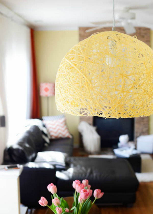 DIY Pendant Light. Get the tutorial