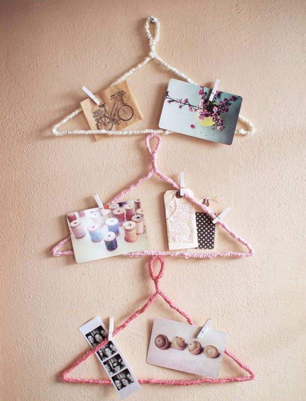 Hanger Inspiration Board. See more directions