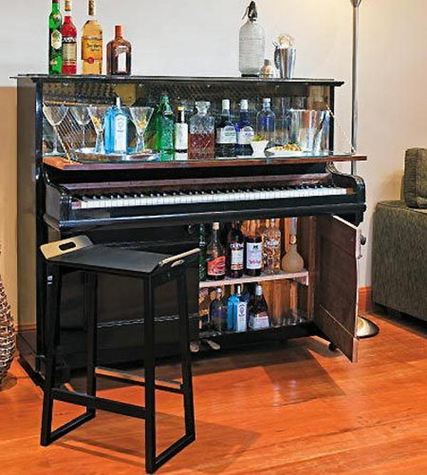 1 creative old piano repurposing ideas