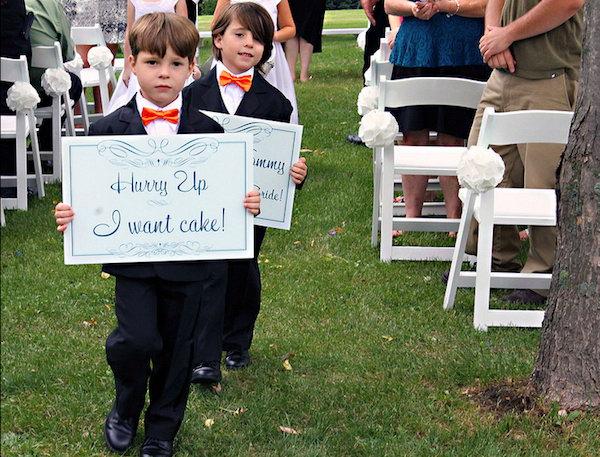 1 creative wedding sign designs