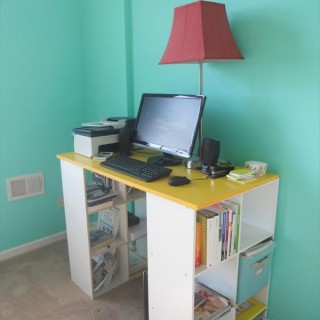 15+  DIY Computer Desks Tutorials  For Your Home Office