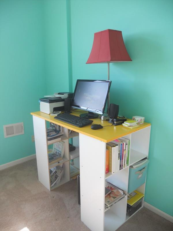 Superieur DIY Pottery Barn Similar Bookshelf Desk. Itu0027s A Great Desk With Lots Of  Storage.