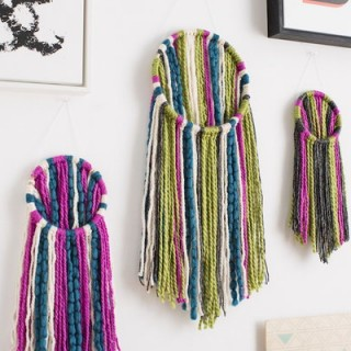 25 DIY Yarn Crafts – Tutorials & Ideas for Your Home Decoration