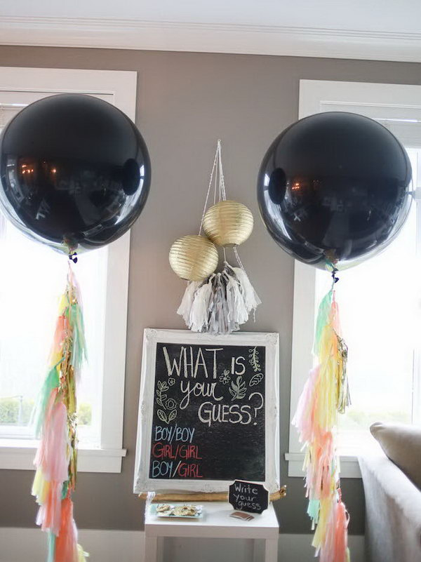 1 gender reveal party ideas