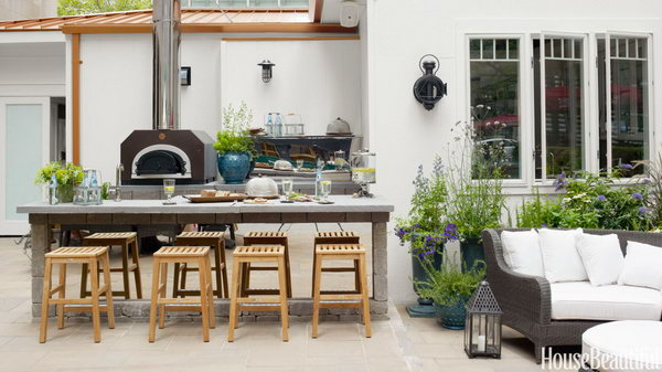25 Cool And Practical Outdoor Kitchen Ideas 2017