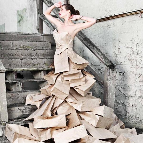 1 paper bag dress