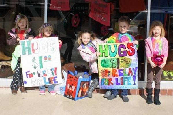 1 relay hug fundraiser
