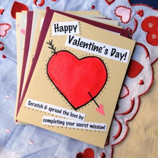 30 Creative Valentine Day Card Ideas & Tutorials