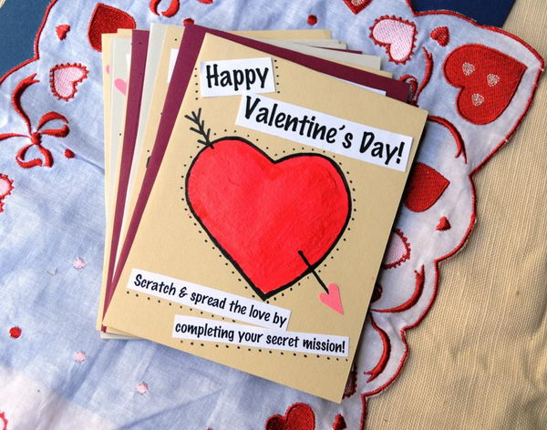 30 Creative Valentine Day Card Ideas Tutorials 2017