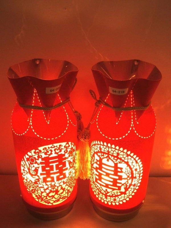 7 chinese wedding decoration lamp