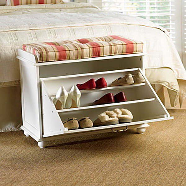 8 shoe storage bench