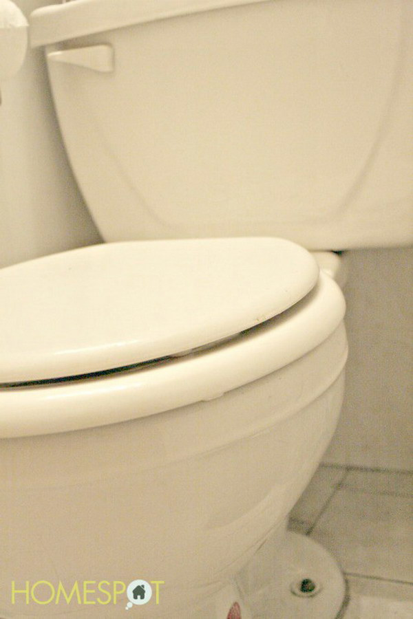 Thoroughly Clean Toilets With Vinegar and Duct Tape. Vinegar is great for cleaning just about anything. The vinegar and duct tape will clean out gunk that could cause your toilet to clog. Check out the tutorial