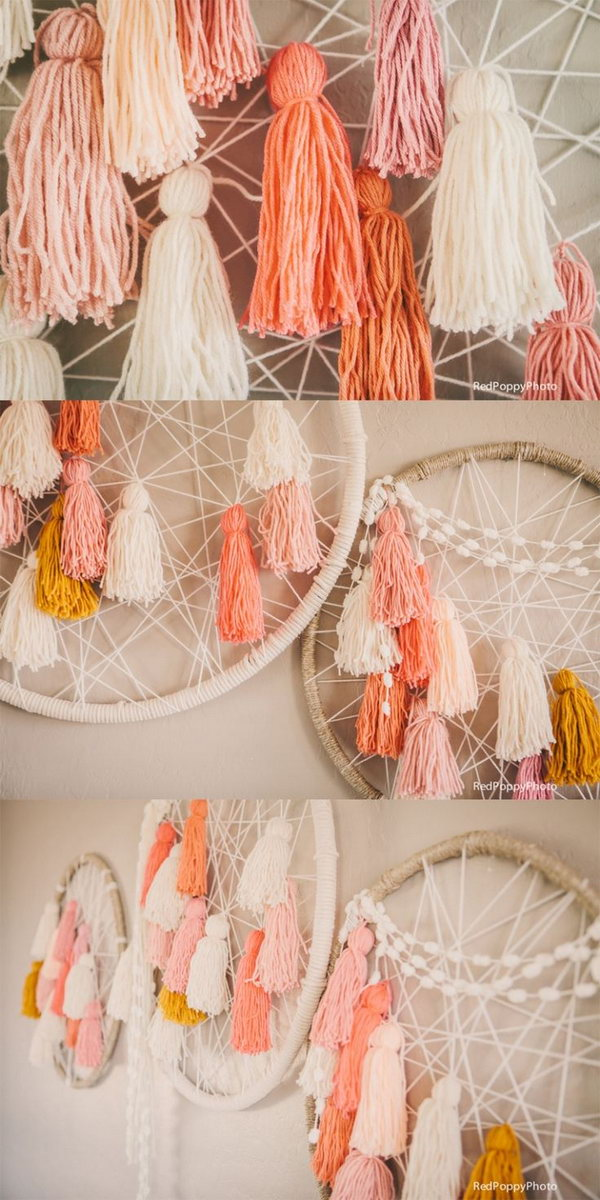 DIY able Giant Dream Catchers .