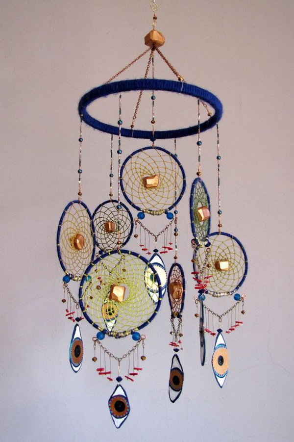 Beautiful Dream Catcher Mobile .