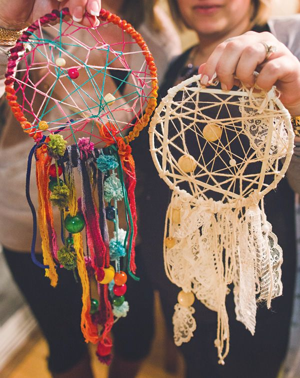 Beautiful DIY Free Pattern Dream Catchers .