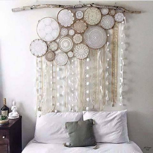 Dream Catcher Decor Over Bed Or Headboard .