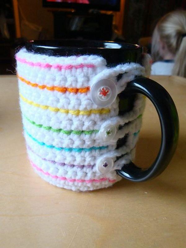 Crochet Mug Cozy.