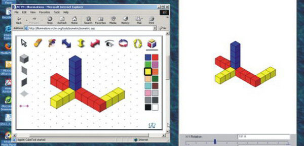 isometric drawing tool from nctm