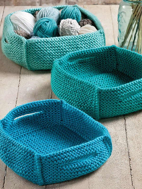 Easy Knitting Crafts For Beginners : Creative knitting and crochet projects you would love