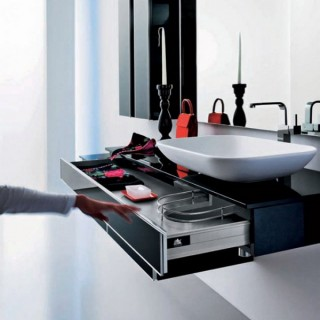 Modern Bathroom Design Onyx by Stemik Living
