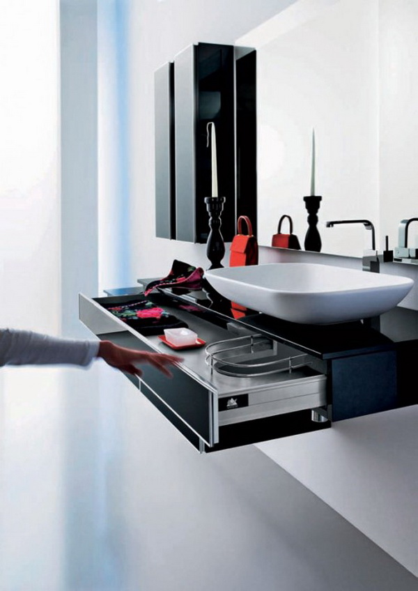 modern bathroom vanity cabinets
