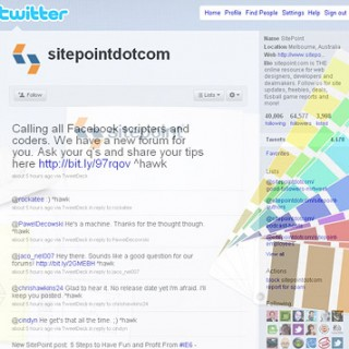 30 Cool Twitter Layouts Showcase