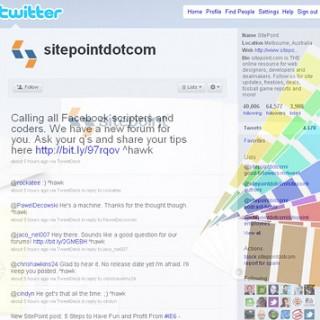 30 Cool Twitter Layouts Showcase