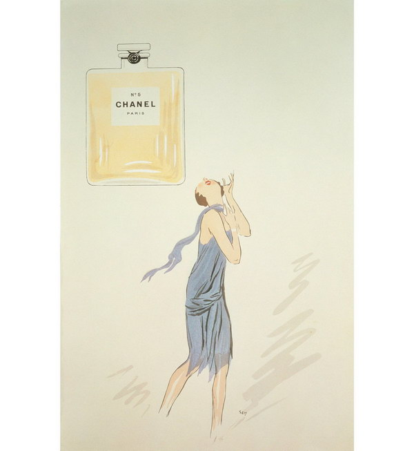 vintage beauty ad 1921 chanel n5 perfume 33