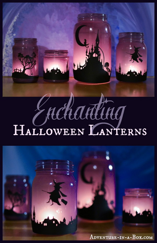 1 mason jar crafts for halloween