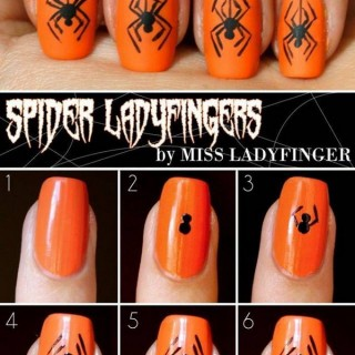 20 Step-by-Step Halloween Nail Art Design Tutorials
