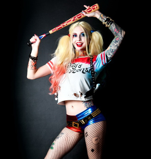 4 harley quinn costumes and crafts