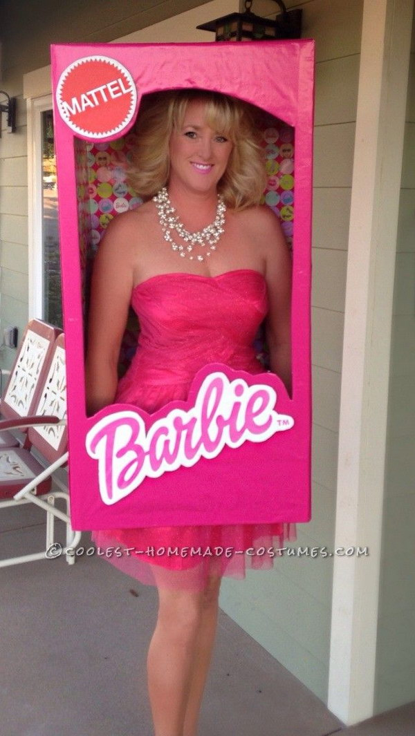 barbie in a box costume - Silly Halloween Costume Ideas