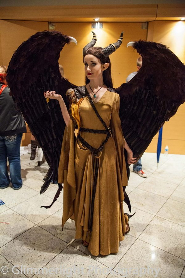 Maleficent Costume.
