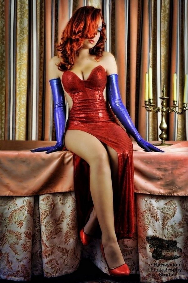 Jessica Rabbit Costume.