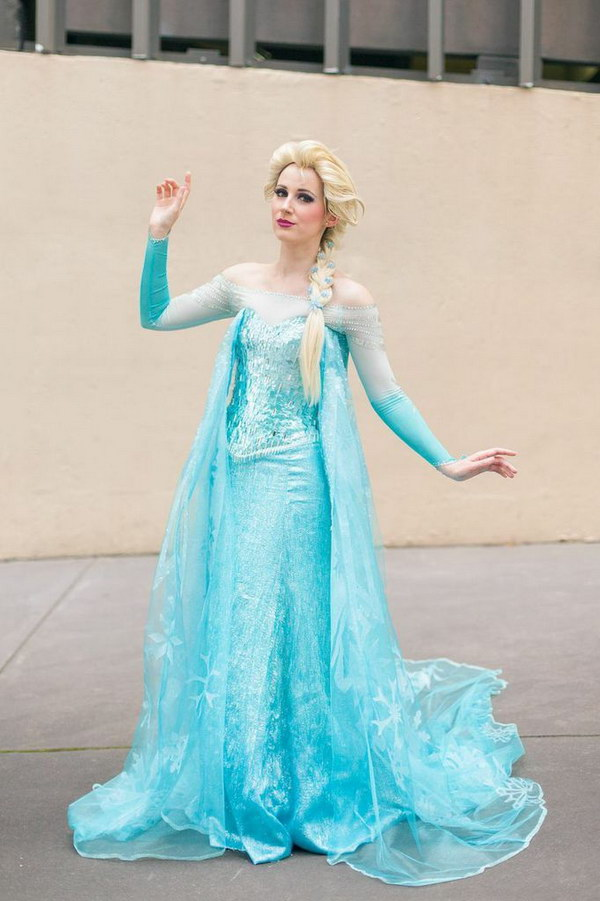 Princess Elsa Costume.