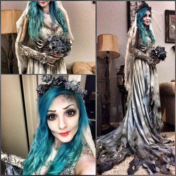 Corpse Bride Inspired look for Halloween.  sc 1 st  IdeaStand & Cool Halloween Costume Ideas 2017