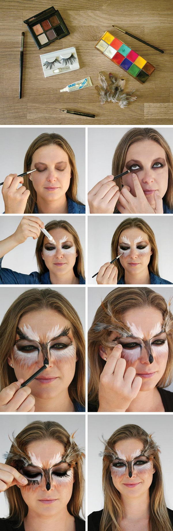 'Owl' Makeup Tutorial