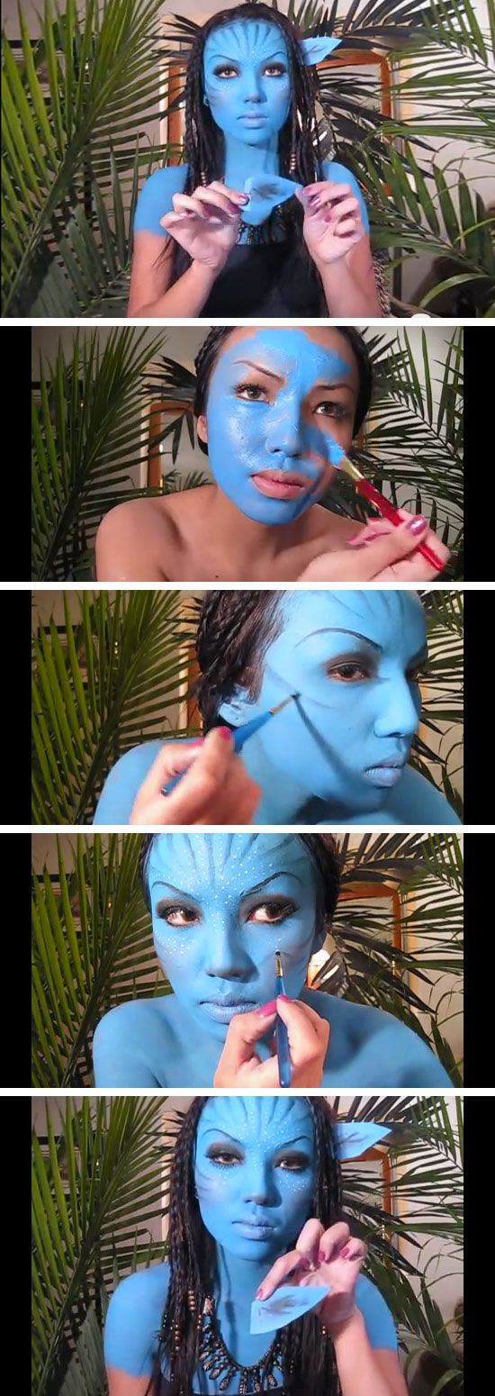 Avatar (X men) Make up
