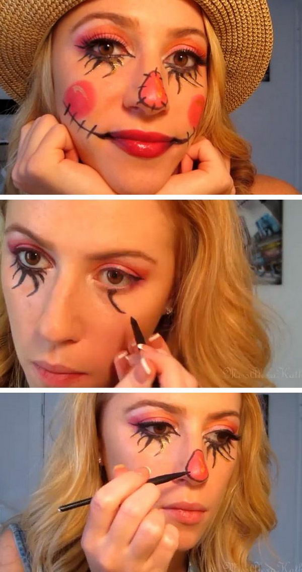 Scarecrow Makeup Tutorial