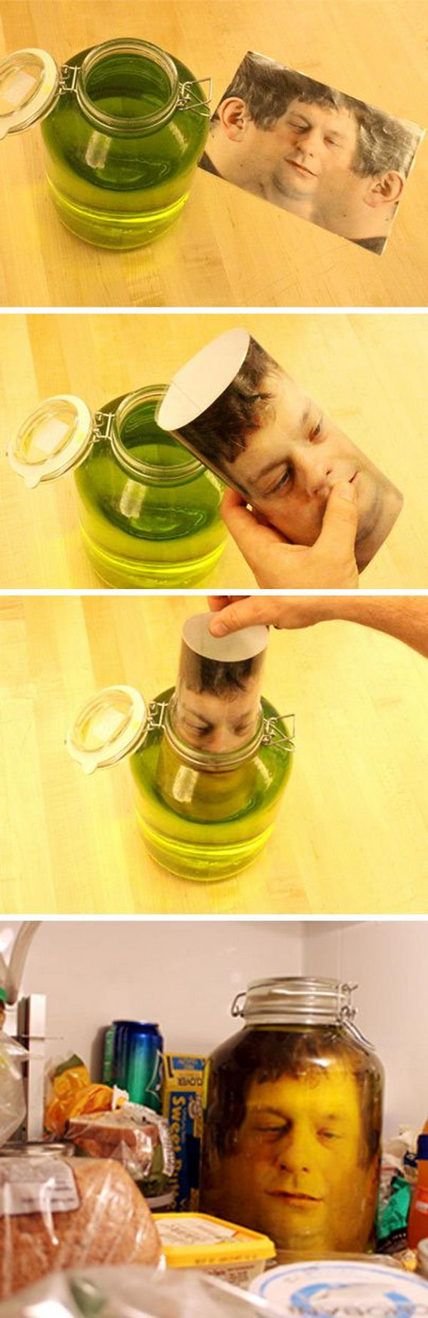 DIY Head in a Jar.