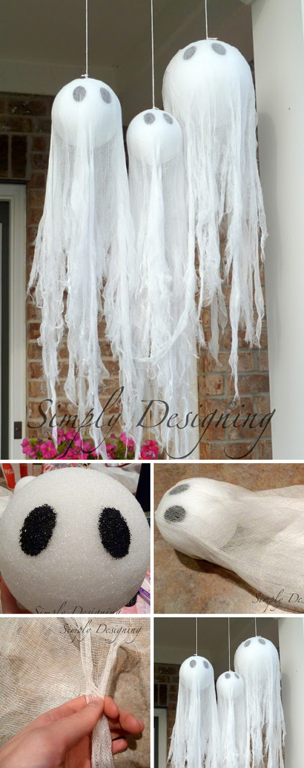 Easy and cheap diy halloween decoration ideas
