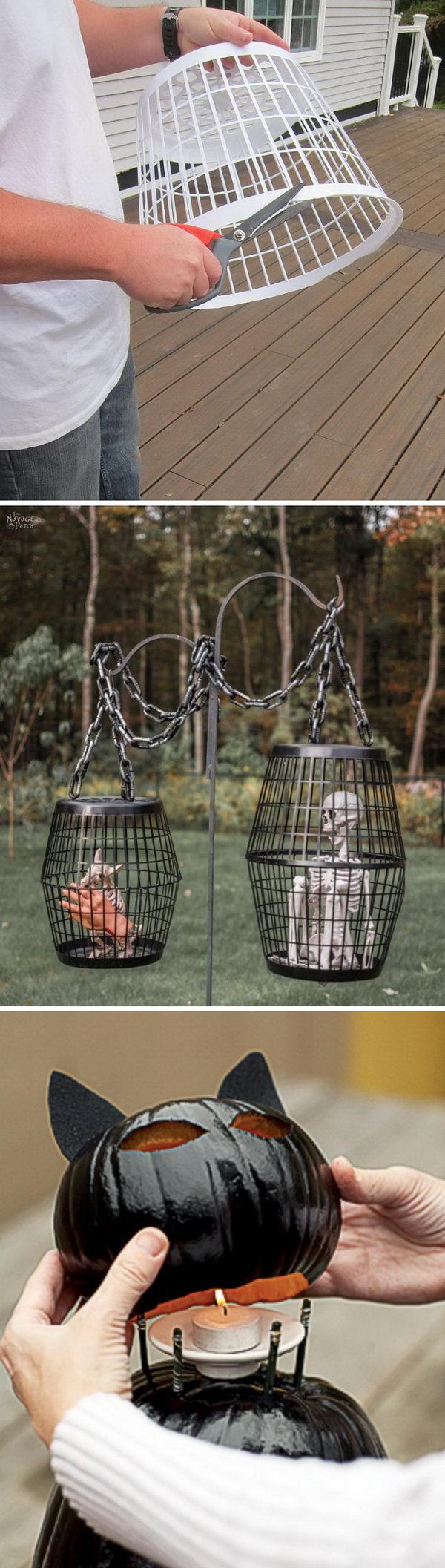 25 Easy and Cheap DIY Halloween Decoration Ideas.