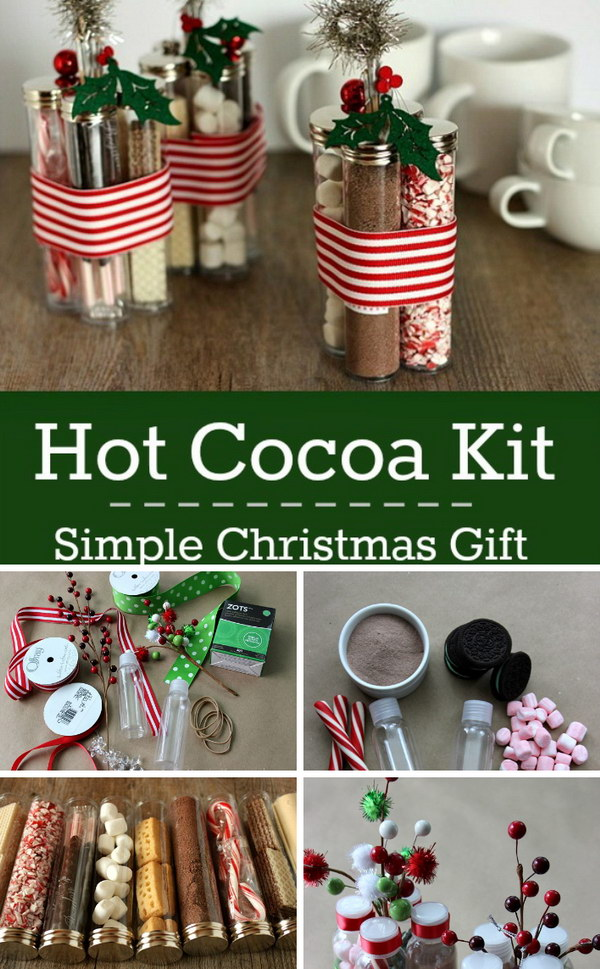Hot Cocoa Kit Simple Christmas Gift.