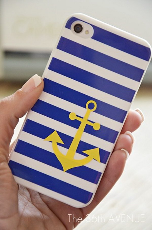 Nautical Anchor Case. See the tutorial