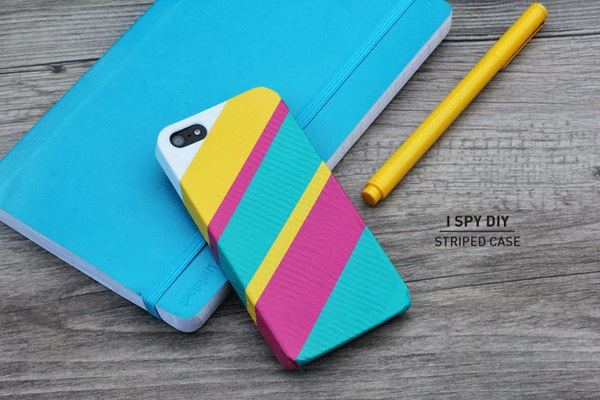 Stripped iPhone Cases.