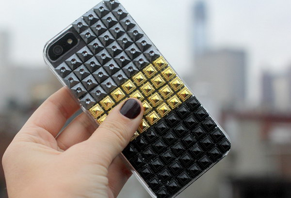 DIY Stud iPhone Case.