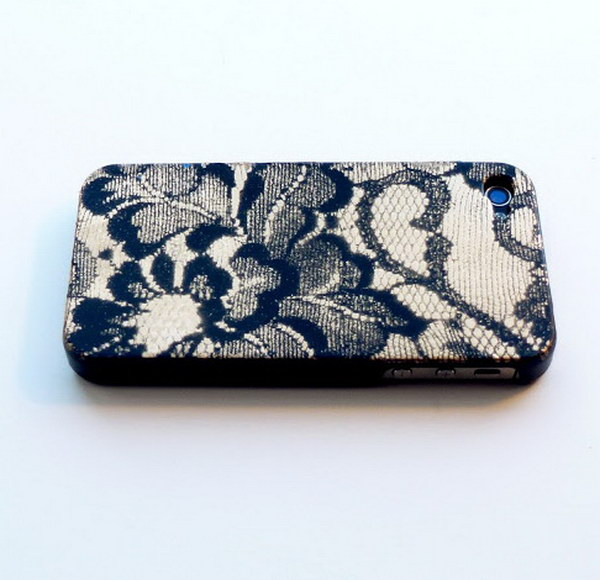 Spray Paint Lace Case.