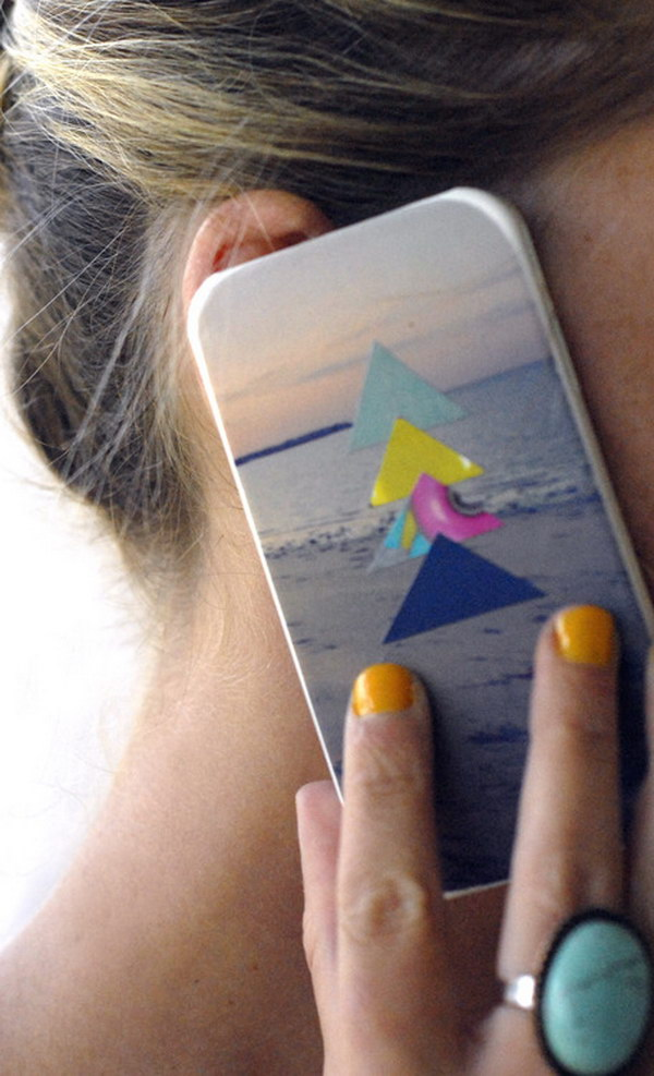 Triangle Collage Cases. See how