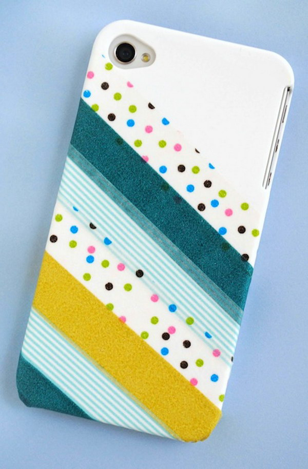 Washi Tape iphone Case.
