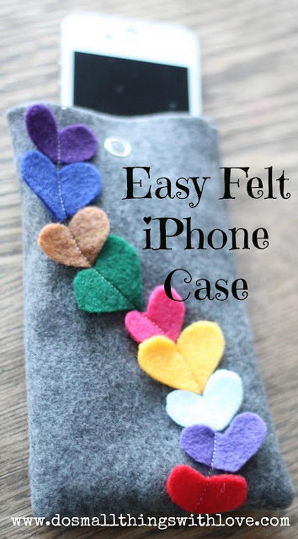 EASY Heart Felt iPhone Case.